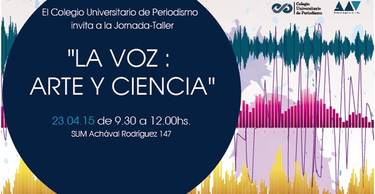 dia de la voz 2015 afiche